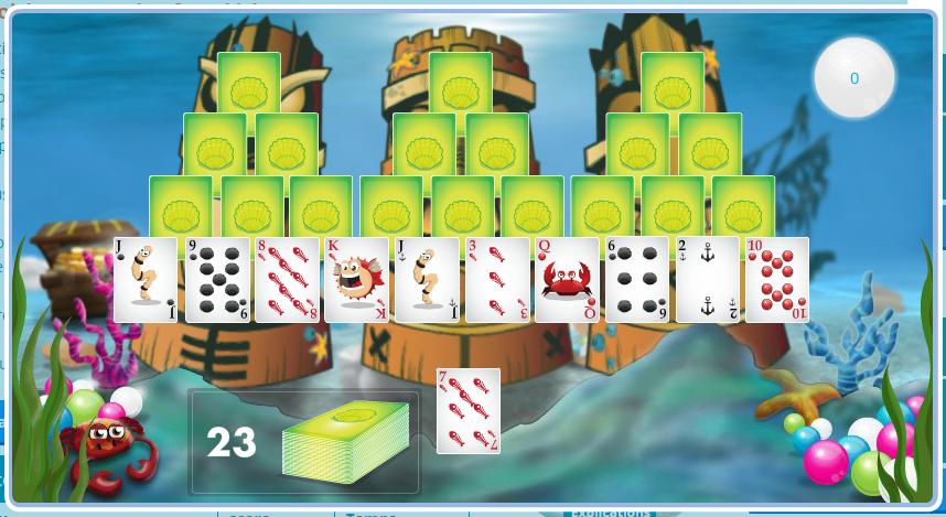 Exemple de jeu gratuit sur Qassa, un site de mails rémunérés